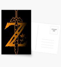 Zelda - Atem der Wildnis Postkarten