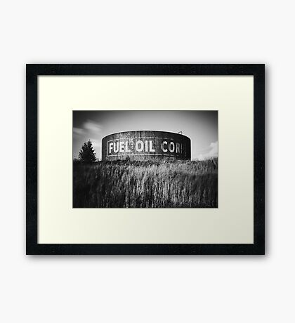 Fuel Oil Corp Framed Print