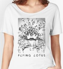 Flying Lotus Eyes Above Women's Relaxed Fit T-Shirt