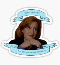 Sassy Scully sticker Sticker