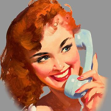 Phone Pinup by Rickmans