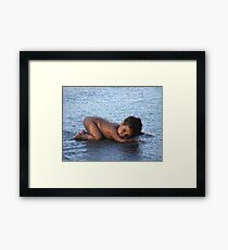 Water Baby 2 Framed Print