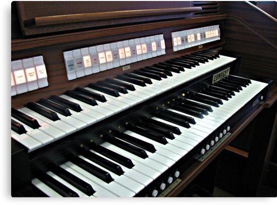 Heavenly Music - Organ Keyboard by BlueMoonRose