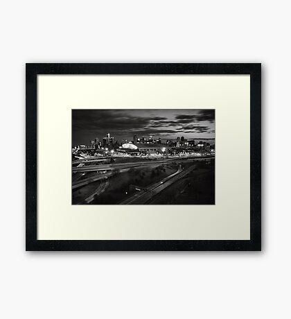 The Motor City Framed Print