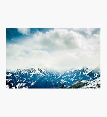 Mountain Tops Photographic Print
