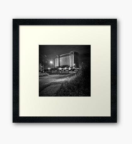 Michigan Central Station Framed Print