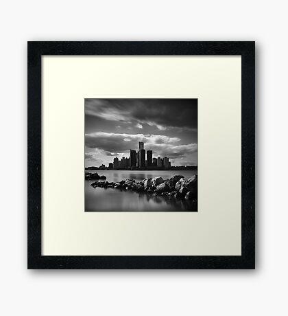 Detroit Framed Print