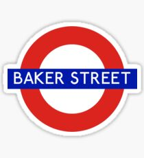 Fandom Tube- Baker Street Sticker