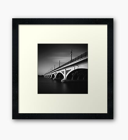 MacArthur Bridge Framed Print