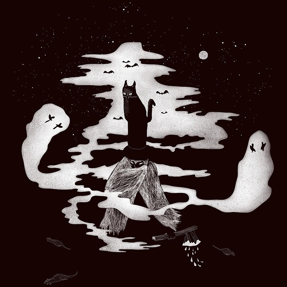 Spooky night by Ursulla