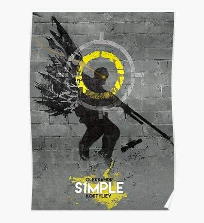 NAVI S1MPLE HQ Poster
