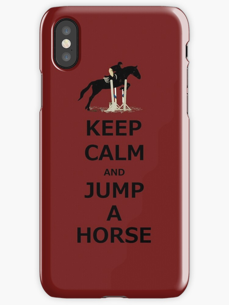 Keep Calm & Jump A Horse  by Patricia Barmatz
