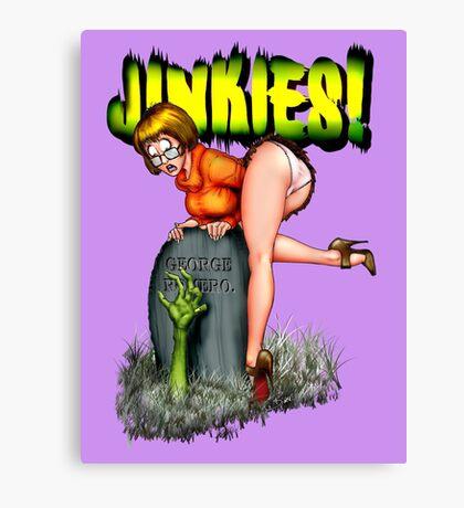 Jinkies! Canvas Print