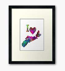 Sweet Home Nova Scotia Framed Print