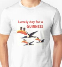 Vintage Guinness Beer Ad Toucans T-Shirt