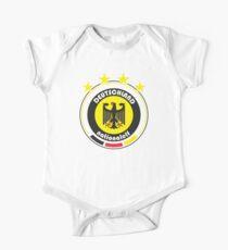 World Cup Football 3/8 - Team Deutschland One Piece - Short Sleeve