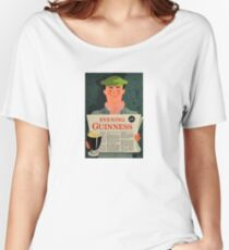 Vintage Guinness Beer Ad #3 Women's Relaxed Fit T-Shirt