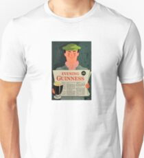 Vintage Guinness Beer Ad #3 T-Shirt