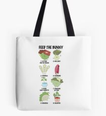 FEED THE BUNNY Tote Bag