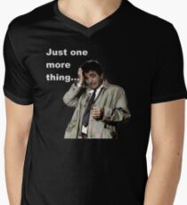 Columbo - Just one more thing Men's V-Neck T-Shirt
