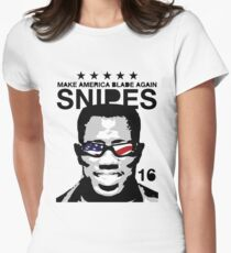 Wesley Snipes 2016 - Make America Blade Again Women's Fitted T-Shirt