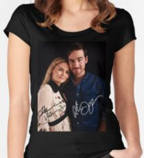 Colin & Jennifer - Once Upon A Time Women's Fitted Scoop T-Shirt
