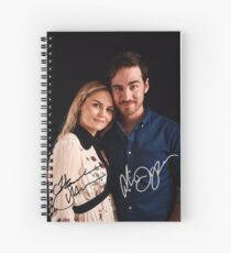Colin & Jennifer - Once Upon A Time Spiral Notebook