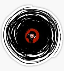 I'm spinning within with a vinyl record... Sticker