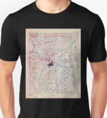 USGS TOPO Map Arkansas AR Little Rock 260509 1893 125000 T-Shirt