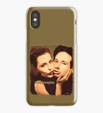 Gillian and David - Schmoopies iPhone Case/Skin