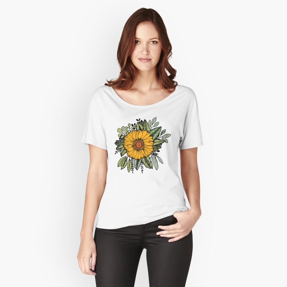 SUNFLOWER Women's Relaxed Fit T-Shirt Front