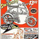 VW hotrod parts dream bike by Tony  Bazidlo
