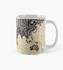 world map mandala 3 Mug