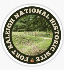 Fort Raleigh National Historic Site circle Sticker