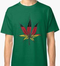 Cannabis (marijuana) leaf flat icon, Classic T-Shirt