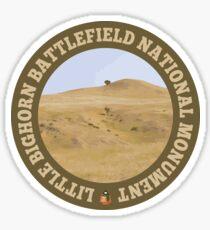 Little Bighorn Battlefield National Monument circle Sticker