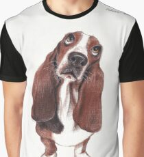Beautiful Basset Hound Looking for a Forever Home Graphic T-Shirt