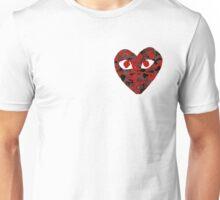 CDG Bape Red Camo Unisex T-Shirt