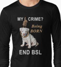 End BSL Long Sleeve T-Shirt