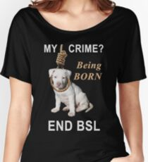End BSL Women's Relaxed Fit T-Shirt