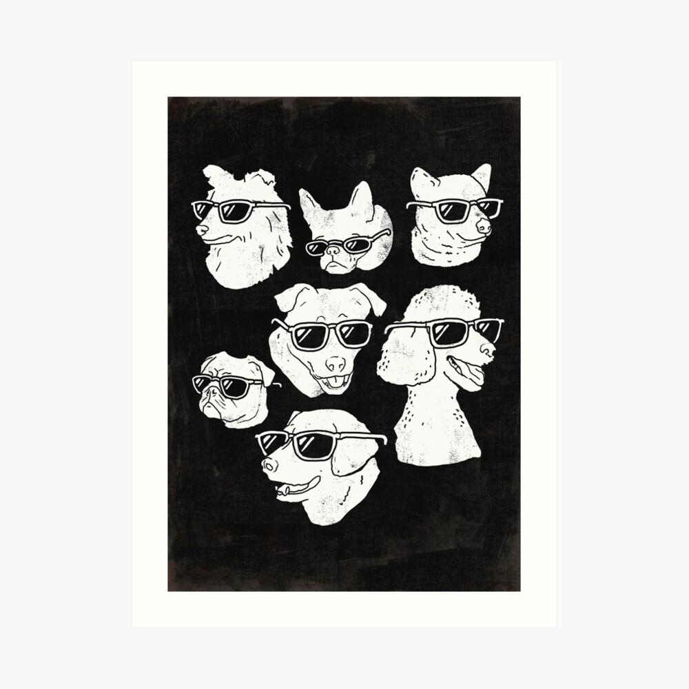 Dog Dogs Art Print
