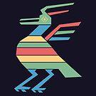 Aztec Bird by modernistdesign