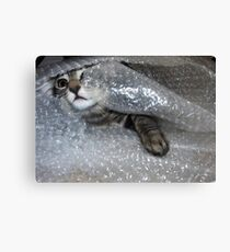 Mikino bubble-wrapped Canvas Print