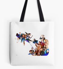 Tripping on Time and Space Tote Bag