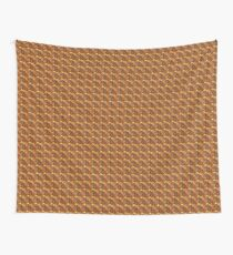 Fire and Swirls Wall Tapestry