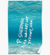 Finding nemo posters redbubble p sherman 42 wallaby way sydney finding nemo poster altavistaventures Image collections
