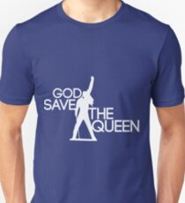 God save the queen Freddie Mercury design Unisex T-Shirt