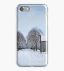 Snowy Lane iPhone Case/Skin