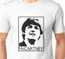 Silueta de Paul Mccartney Unisex T-Shirt