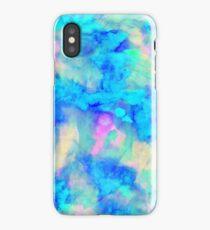 Electric Blue iPhone Case/Skin
